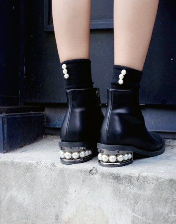 reet pearl ankle-boots