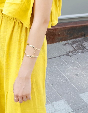 timber twist bangle-B