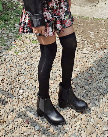 glass chelsea ankle-boots
