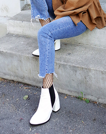hurry ankle band-heel