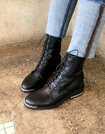 tenable lace up-boots