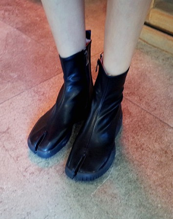 maze tabi rubber-boots
