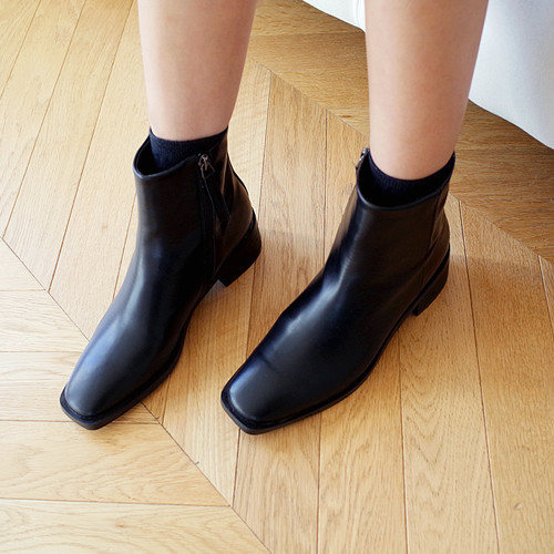 partner square ankle-boots