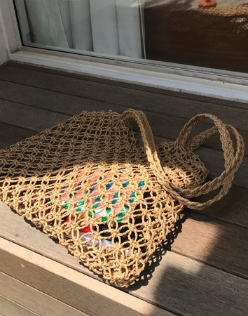 diamond net-bag